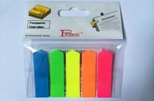 Giấy phân trang Pronoti 5 màu nhựa