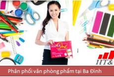 Dịch vụ phân phối văn phòng phẩm tại Ba Đình – Hà Nội