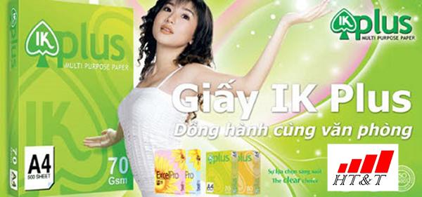 NPP giấy IK Plus chính hãng ở Hà Nội