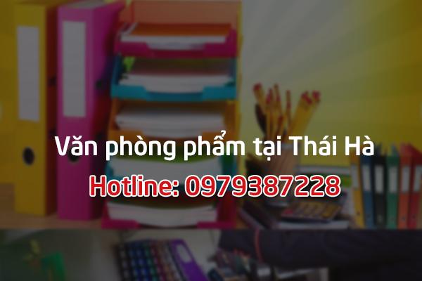 Dịch vụ phân phối văn phòng phẩm tại Thái Hà, Hà Nội
