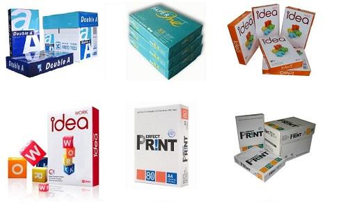 5 nhãn hiệu giấy in được dùng nhiều nhất Việt Nam